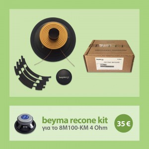 recone kit 8M100-KM 4 Ohms