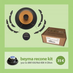 recone kit 8M100/Nd-KM 4 Ohms
