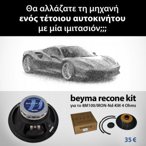 recone kit 8M100/IRON-Nd-KM 4 Ohms